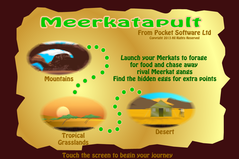 Screenshot Meerkatapult